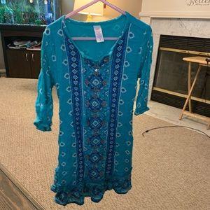 Justice brand size 6 cute fall dress